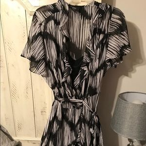 MSK Women faux wrap dress. Size 20W